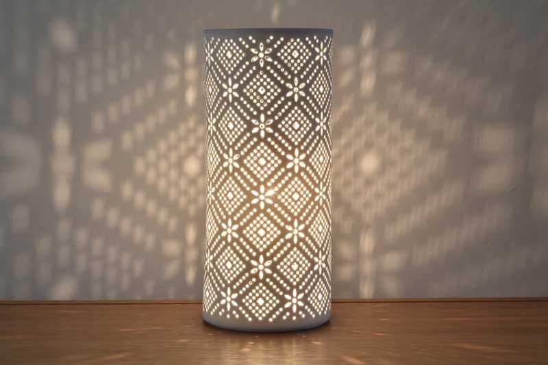 Lace Porcelain Lamp Futon Company