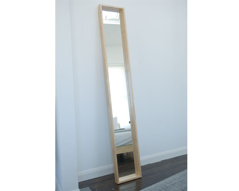 Long Wall Mounted Mirror Futon Company