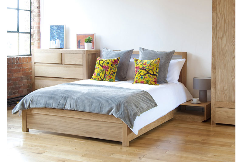 Oak Storage Double Bed ...
