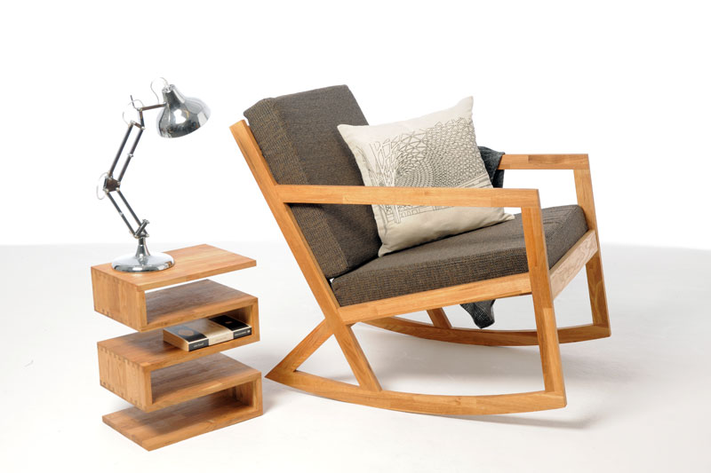 Oak Rocking Chair ...