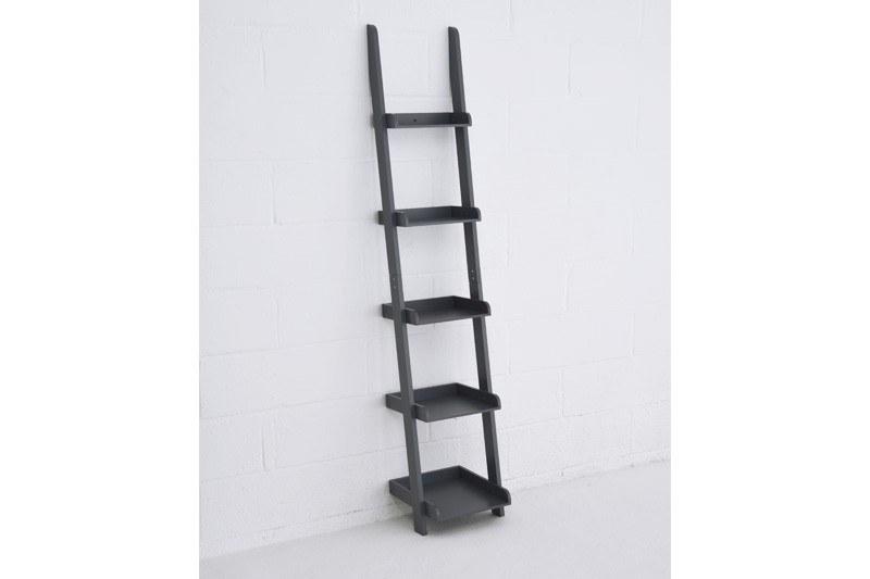 Narrow Mdf Ladder Shelves Futon Company