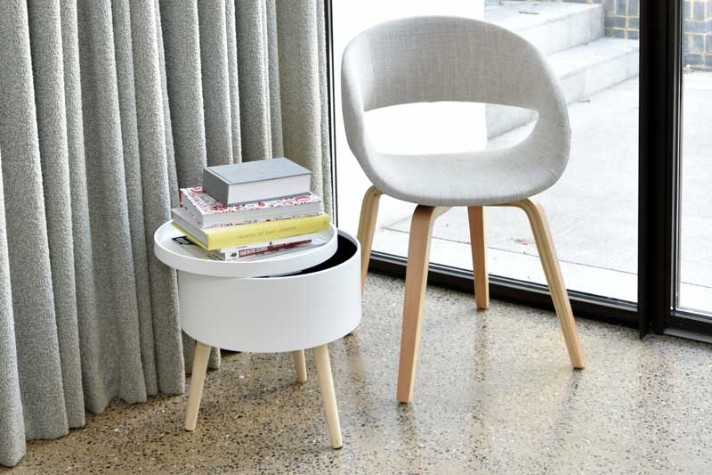 Incroyable ... Orbit Chair Natural With Cache Table