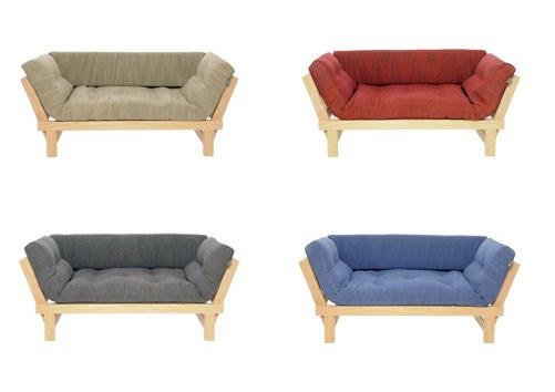 Cute Sofa Bed In Pine Futon Company