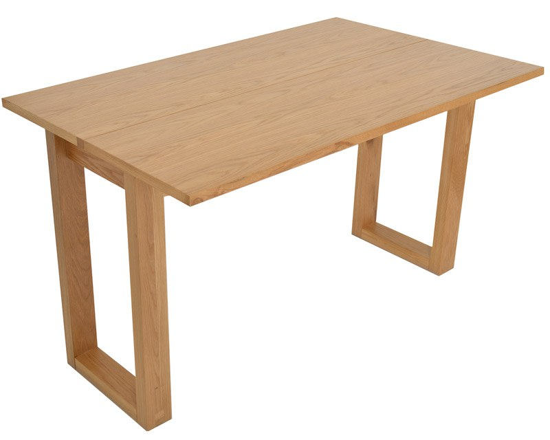 Folding Oak Console Table Dining Or Desk Futon Company