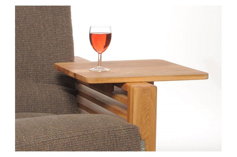3 Seater Futon Sofa Bed In Solid Wood Oak Futon Company