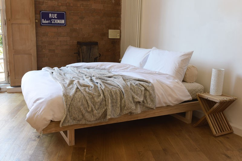 Japanese Inspired Low Double Bed Futon Company