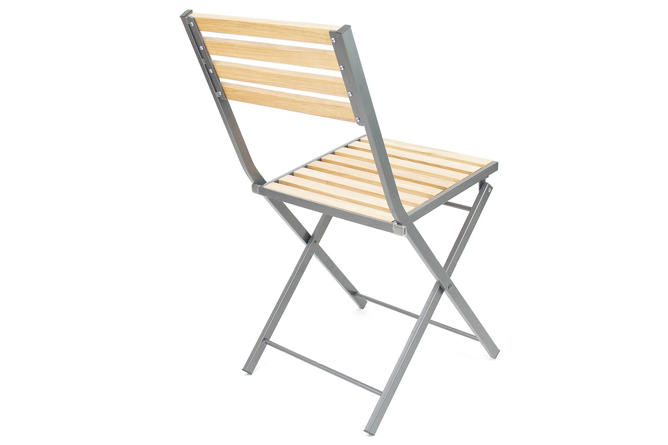 Naples Wood And Metal Folding Chairs Futon Company