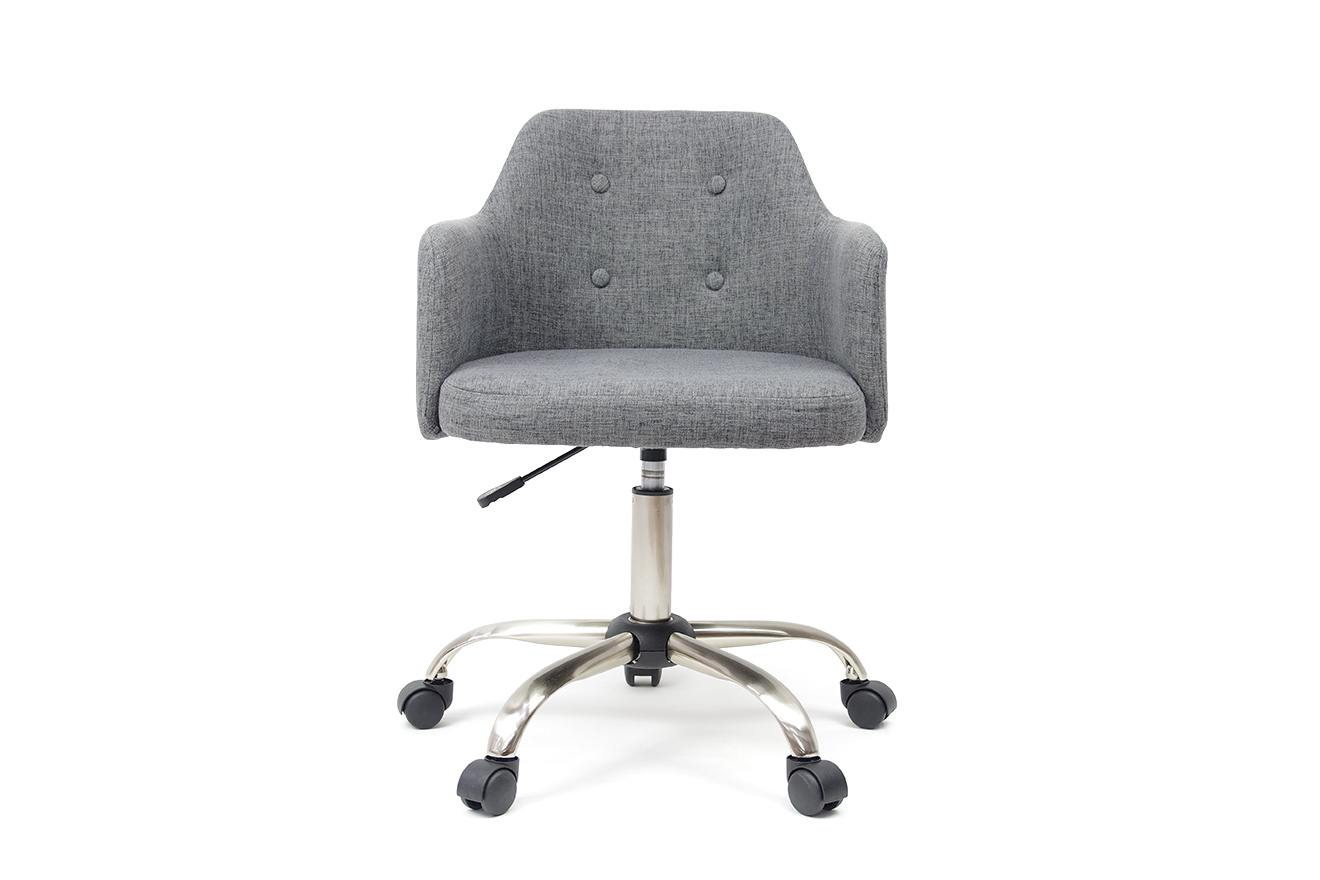 Image of: Rotary Upholstered Office Desk Chair Futon Company