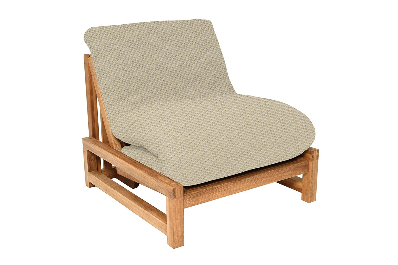 Single Seater Solid Oak Sofa Bed Futon Company