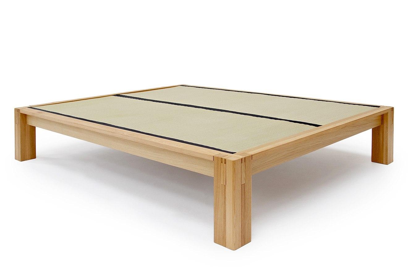 Kingsize Japanese Style Oak Tatami Bed   Futon Company