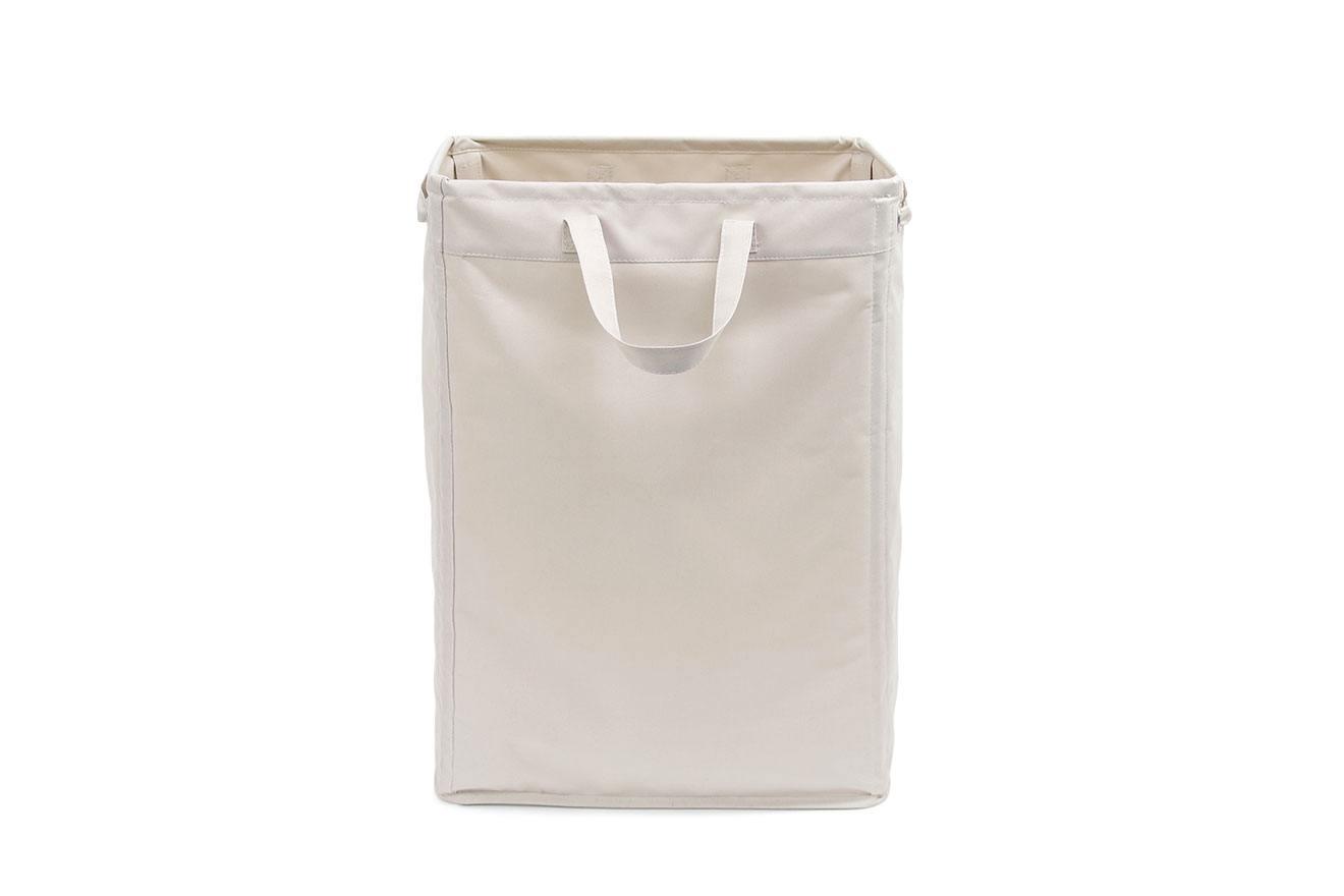 Slim Canvas Laundry Bag With Handles Futon Company