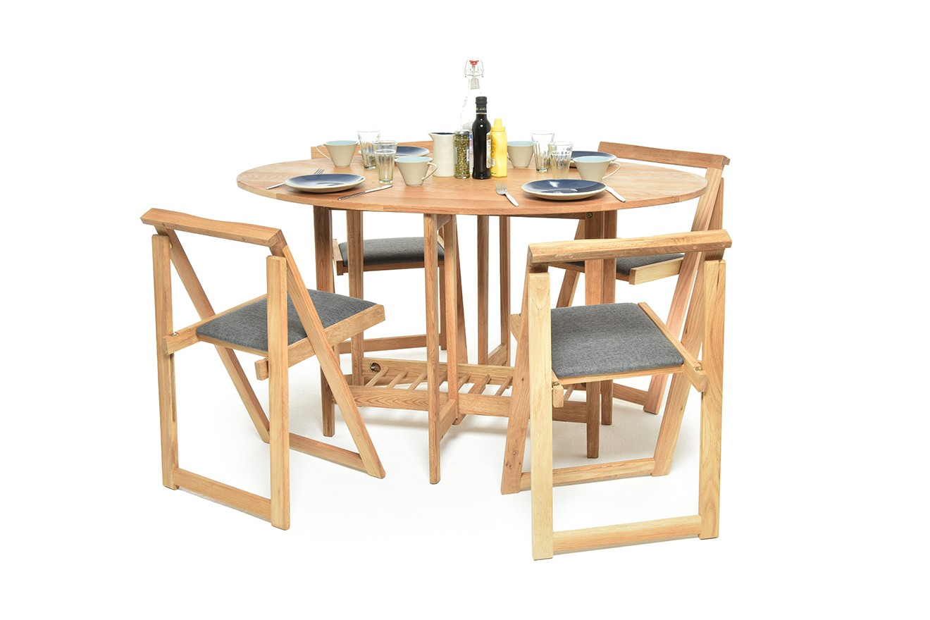 Drop Sided Wooden Dining Table Futon Company