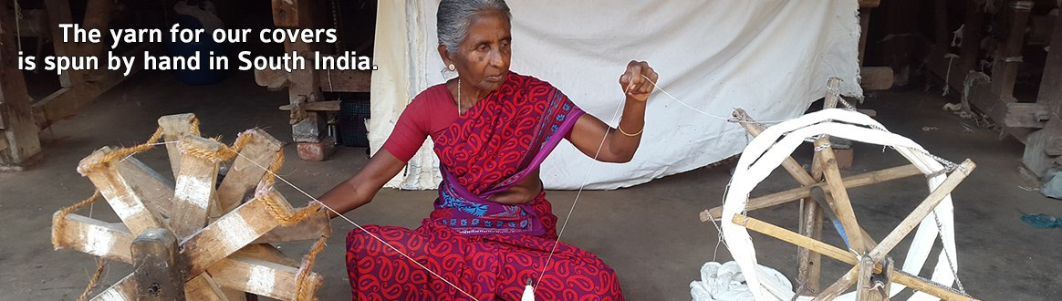 Sprung by hand in south India