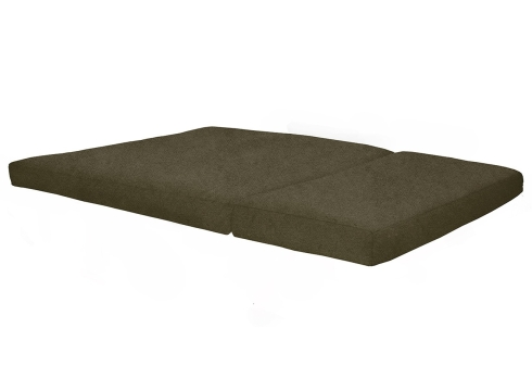 3 Panel Futon Chequers Salt and Pepper