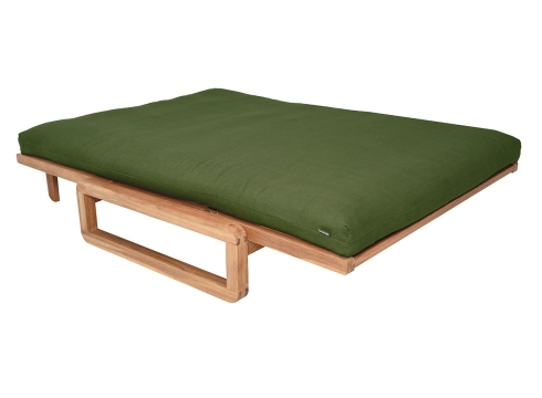 Authentic Double Futon Handloom Forest Green