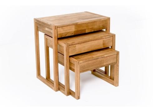 T4 Oak Nest Of Tables