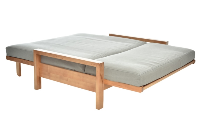 Example of 3 panel futon as a bed