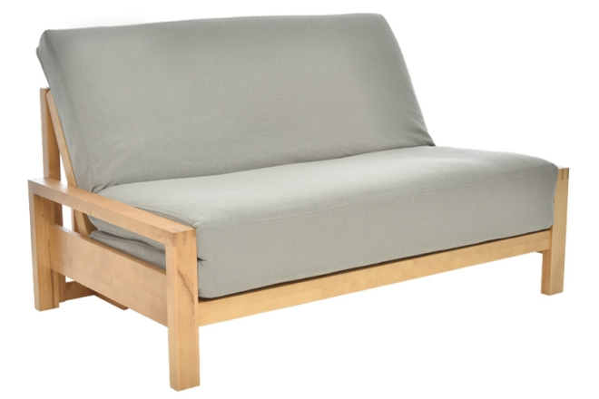 Example of 3 panel futon side view
