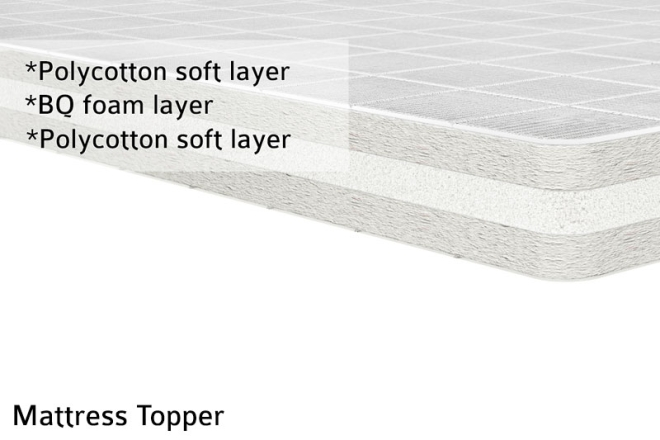 Mattress Topper Cross Cut