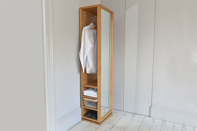 Oak-storage-mirror