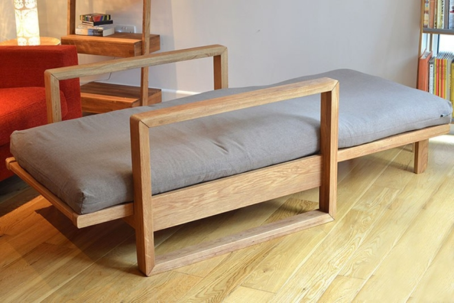 Oak Cuba As Bed Single 1