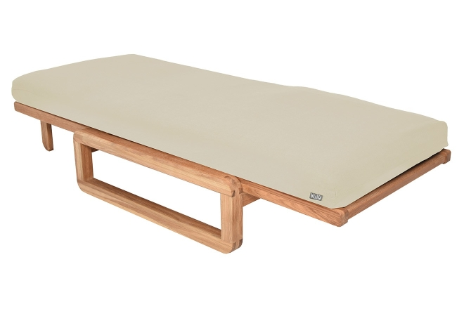 Authentic Single Futon With Cover Handloom Natural