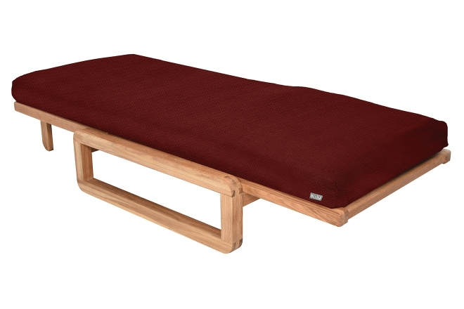 Comfort Single Futon With Cover Aldeburgh Paprika