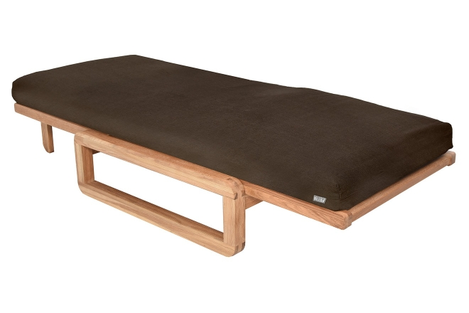Comfort Single Futon With Cover Handloom Fieldmouse