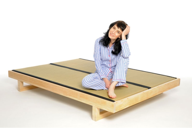 Mirage Bed Fame And Mats With Model