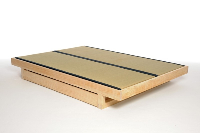 Mirage Bed With Tatami Mats And Drawers