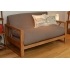 Cuba 2 Seater Oak Sofa Bed 5