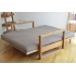 Cuba 2 Seater Oak Sofa Bed 6